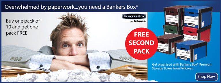 Fellowes, Bankers Box, Filing