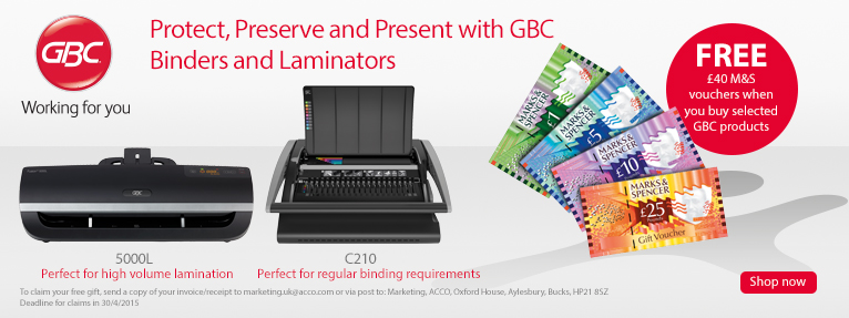 GBC, Laminator, Binding Machine