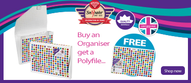 Snopake,Polka Dot,Organiser,Polyfiles,Office Supplies